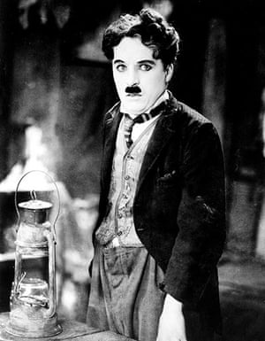 SIlent movie stars: Charlie Chaplin