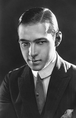SIlent movie stars: Rudolph Valentino