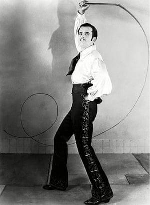 SIlent movie stars: Douglas Fairbanks