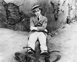 SIlent movie stars: Harold Lloyd