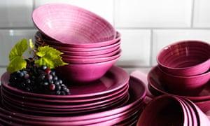 Ikea's new Forsla tableware range in pink