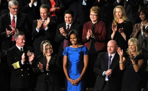 Michelle Obama at the State of the Union address