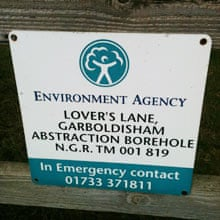 Abstraction borehole
