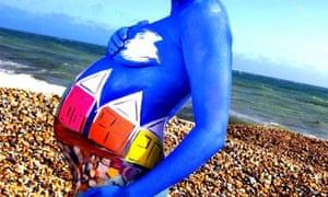 Beach bump painting