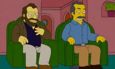 Will Shortz and Merle Reagle's cameo in The Simpsons
