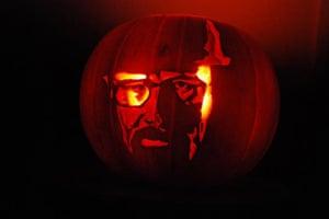 Readers' Halloween: Walter White pumpkin