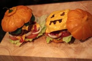 Readers' Halloween: Halloween burgers
