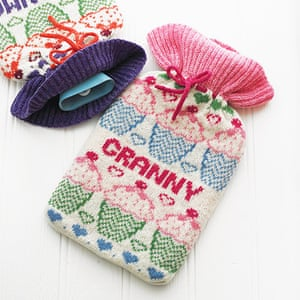 Hot water bottles: Personalised hot water bottle cover