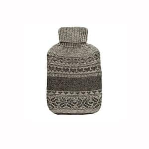 Hot water bottles: Fair isle knit hot water bottle