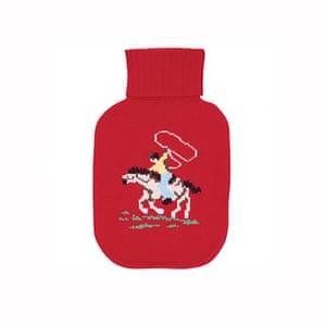 Hot water bottles: Cowboy hot water bottle