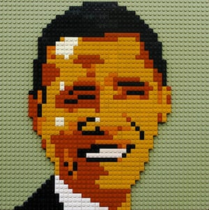 Obama craft: Obama Lego