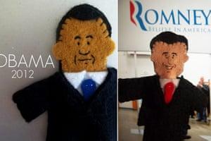 Obama craft: Puppets