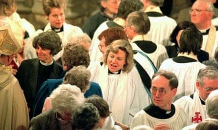 Reverend Angela Berners-Wilson in 1994