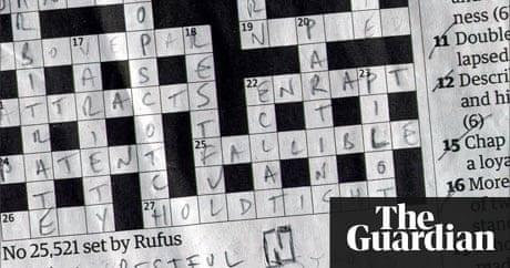 Crossword blog meet the setter rufus crosswords the guardian solutioingenieria Choice Image