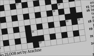 Crossword blog: meet the setter Arachne