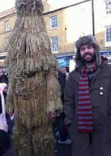 Tom Cox meets the infamous straw bear