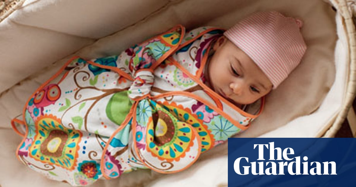 03b0c71f8 How to make a swaddle blanket | Life and style | The Guardian
