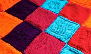 Easy Dog Blanket Knitting Pattern : Knit a blanket for a rescue dog Life and style The Guardian