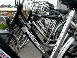 Floriade: Bicycles at Floriade