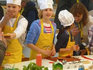 Floriade: Children at Floriade's House of Taste