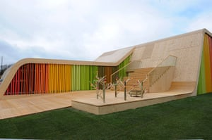 Floriade: The Spanish pavilion at Floriade