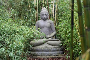 Floriade: A Buddha statue in the Indonesian area