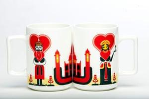 India meets china: Taj chai mugs, £8, by The Play Clan