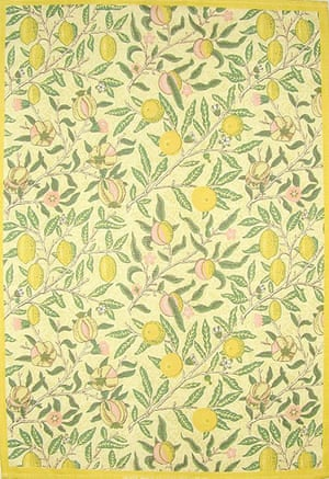 tea towels: Fruits Minor tea towel by William Morris
