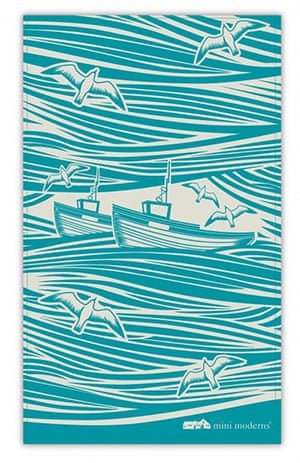 tea towels: Whitby tea towel
