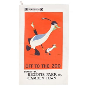 tea towels: Off to the zoo tea towel