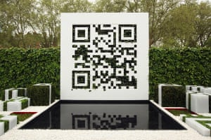 Chelsea flower show: The QR Code Garden