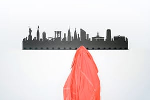 Coat stands racks: City coat rack New York