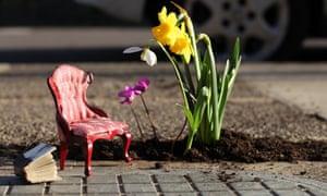 Chelsea Fringe 2012: The Pothole Gardener