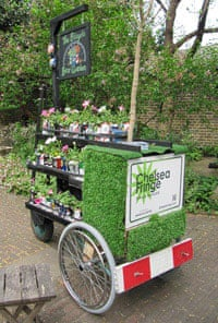 The Bicycling Beer Garden at the Chelsea Fringe