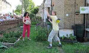 A play performed in someone's front garden as part of the Chelsea Fringe