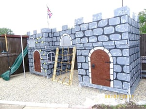 Shed of the year: Play castle