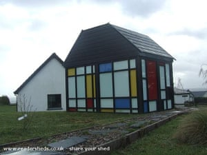 Shed of the year: Mondrian shed