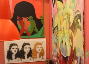 Art Haus project: Art on the walls of the Arthaus dining room