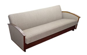 Soviet interior style: 1960s sofa