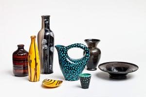 Soviet interior style: Porcelain vases
