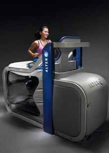 The Alter G treadmill