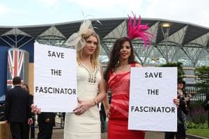 Ladies' Day: Debenhams protest
