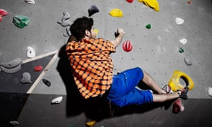 The Arch bouldering wall in Bermondsey, London