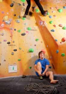 Climber Johnny Dawes