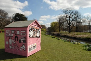 Sheds: Christian O'Connell's 80s shed