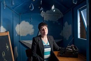 Sheds: Joanne Harris's 'sky shed'