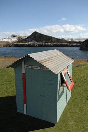 Sheds: Vic Reeves's shed