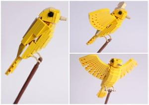 Lego birds: Canary