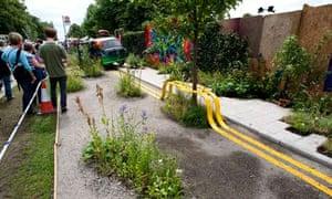 Edible Bus Stop's RHS Hampton Court show garden 2012