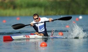 Ed Mckeever Kayak Sprint Gold Medallist